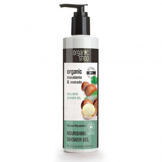 Macadamia & avocado 280ML. Gel de ducha nutritivo y regenerativo.