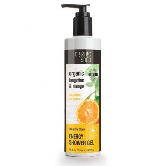Tangerine & mango 280ML Gel de ducha nutritivo y regenerativo