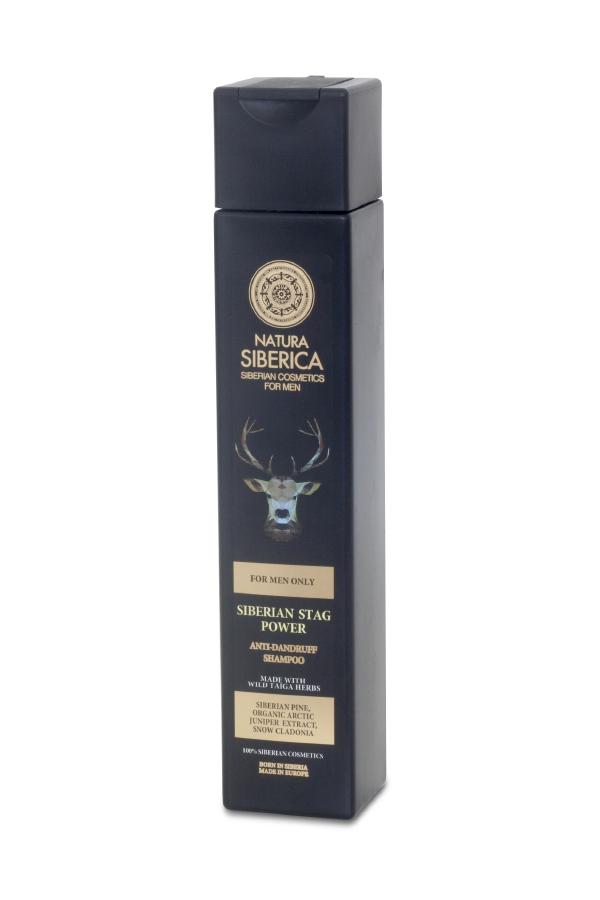 EL PODER DEL CIERVO SIBERIANO - CHAMPÚ ANTICASPA, 250 ml